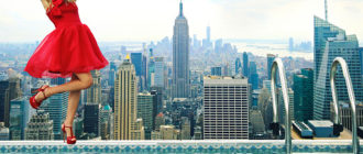 Неделя моды в Нью-Йорке